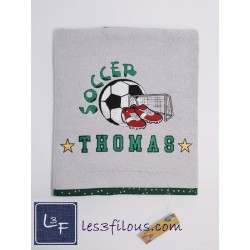 Drap de bain Soccer DRA-056