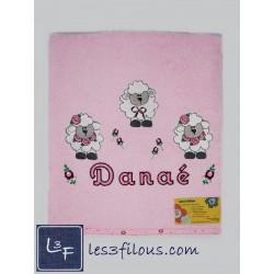 Drap de bain Moutons DRA-061