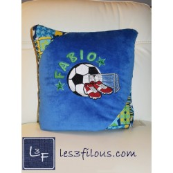 Coussin Couverture Soccer...