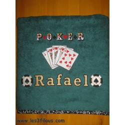 Drap de bain Poker DRA-095