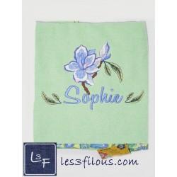 Drap de bain Fleur Orchidée...