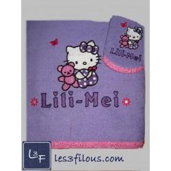 Drap de bain Hello Kitty...