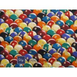 Billard Boules Tissu TIS-008