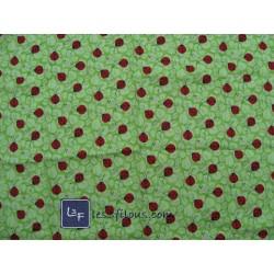 Coccinelles Verte TIS-038