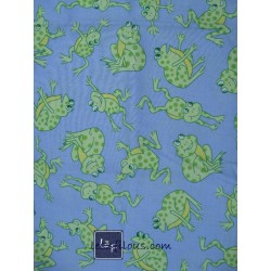 Grenouilles Bleu TIS-078