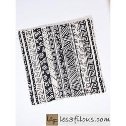 Lingette Motifs Noir LIN-049