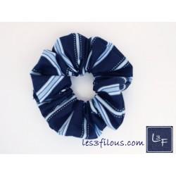 Ligné Bleu Attache Cheveux...