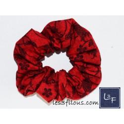Fleuri Noir et Rouge...